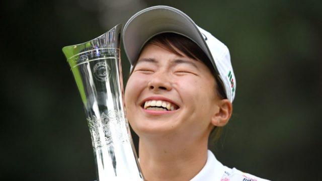 渋野日向子かわいい笑顔の理由