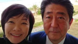 安倍総理・昭恵夫人