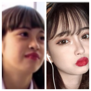マリア愛子画像比較